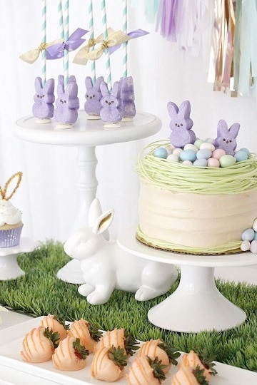 fiesta tematica de conejos para bebes