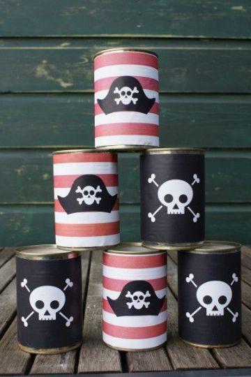 ideas para decoracion de piratas para fiestas infantiles