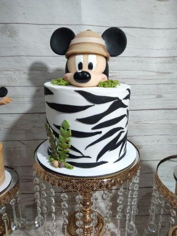 tortas de mickey safari para niñas