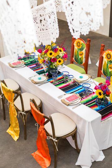 centros de mesa mexicanos para cenas