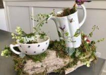 4 ideas para armar centros de mesa para jardin