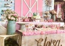 4 ideas para hacer un cumpleaños de granja para bebes