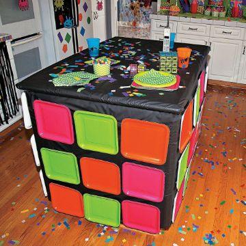fiesta tematica de los 90 para adolescentes