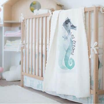 colchas para bebes recien nacidos estampadas