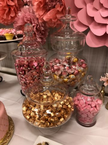ideas para mesa de dulces de princesas