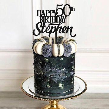 ideas para tortas de cumpleaños para hombres de 50