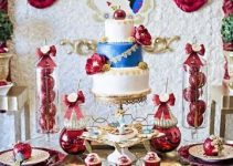 4 formas de decorar una mesa de dulces de blanca nieves