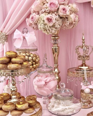 mesa de dulces de princesas paso a paso