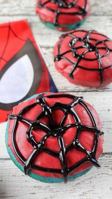 mesa de dulces spiderman tipos