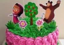 4 formas de hacer una torta de masha y el oso en crema