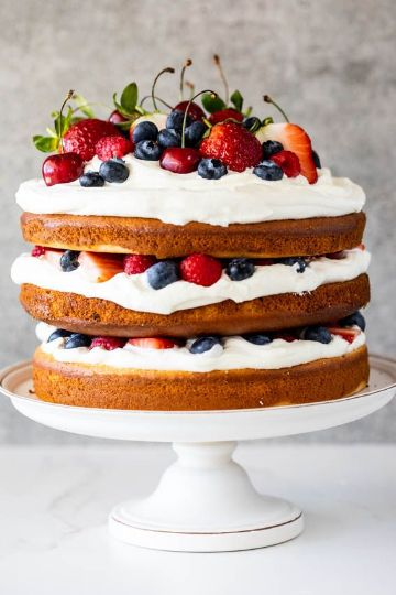 tortas de chantilly para niños de tres pisos