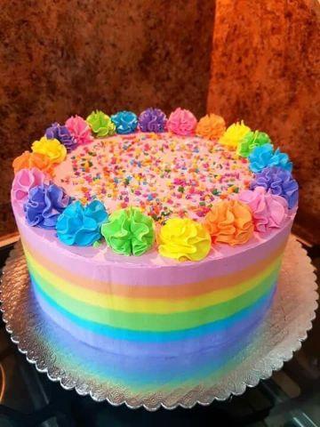 tortas de chantilly para niños y niñas