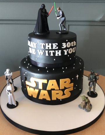 tortas de cumpleaños para adultos de star wars