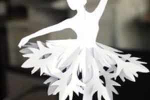 4 estilos de adornos colgantes de papel faciles