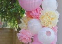 4 ideas sencillas con bolas de papel para decorar