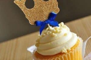 4 decoraciones para cupcakes para baby shower