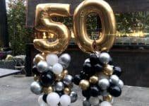 4 formas de armar una decoracion con globos para hombres