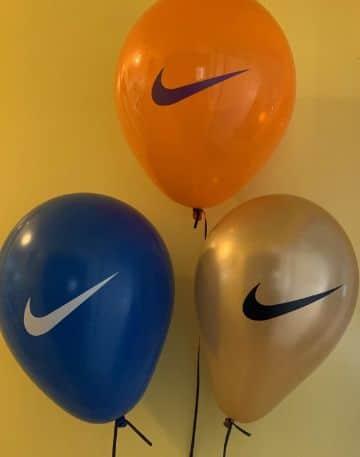 decoracion con globos para hombres sencilla