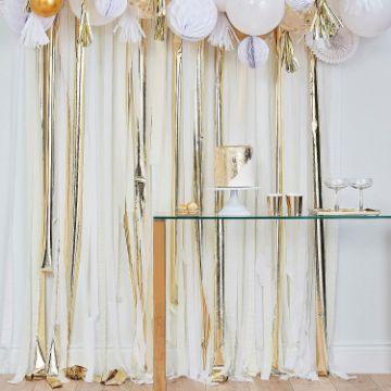 decoracion de fiestas con papel crepe adultos
