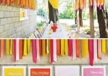 4 formas de hacer una decoracion de fiestas con papel crepe