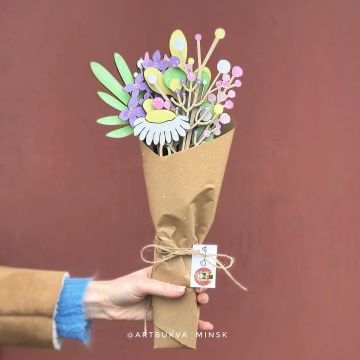 decoraciones con flores de cartulina sencillas