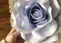 4 estilos de rosas de cartulina para decorar fiestas