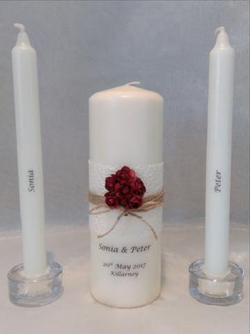 velas decoradas para confirmacion faciles