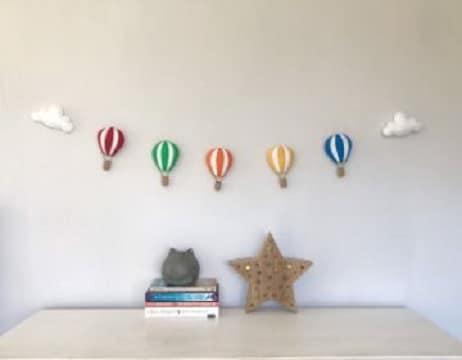 guirnaldas de globos aerostáticos ideas