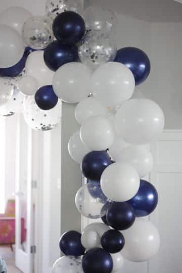 guirnaldas de globos para cumpleaños para chicos