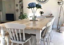 4 formas de usar mesas de campo de madera en casa
