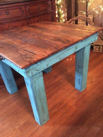 mesas rusticas de campo para la sala