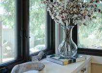 4 hermosas ramas de algodon para decorar sencillas