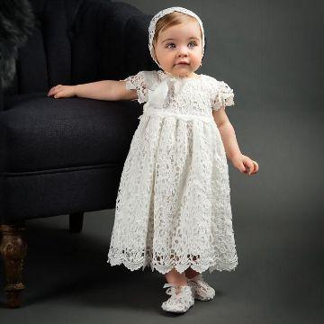 batas de bautizo para bebes de un año