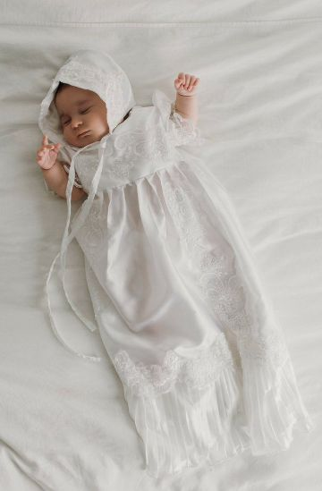 batas de bautizo para bebes niños