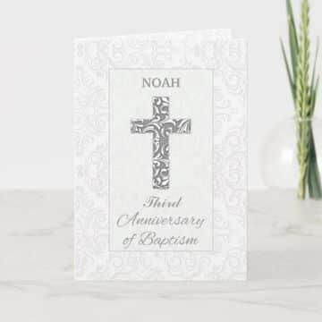 fondos de tarjetas de bautismo sencillas