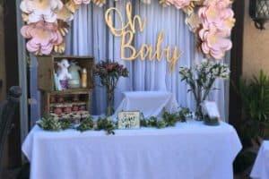 4 hermosos estilos de flores para bautizo de papel para hacer