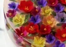 4 hermosas gelatinas decoradas para bautizos