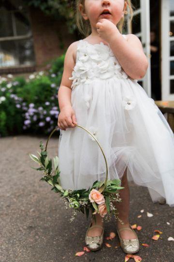 ramos de flores para niña sencillos