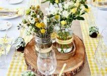 4 ideas para hacer un centro de mesa campestre para bodas