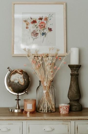 centros de flores secas para salon paso a paso