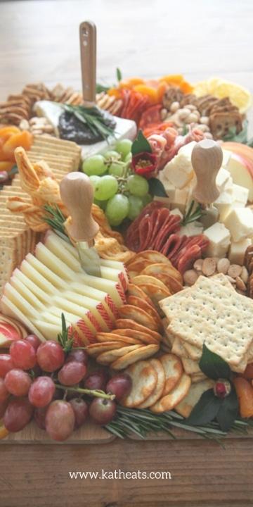 Decoracion de tablas de quesos paso a paso