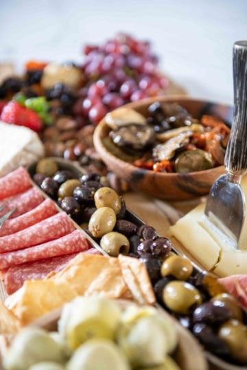 decoracion de tablas de quesos sencillas