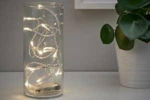 4 ideas para hacer centros de mesa con luces led