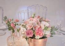4 foras de hacer centros de mesa de cristal con flores