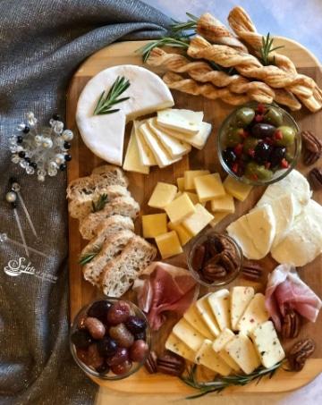 ideas para hacer una decoracion de tablas de quesos