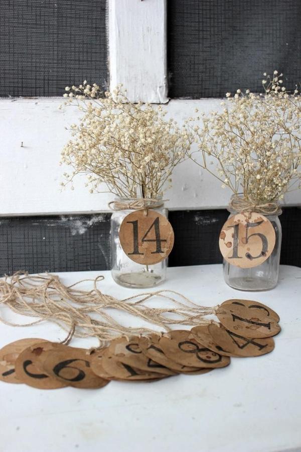 centro de mesa con numeros para fiestas infantiles
