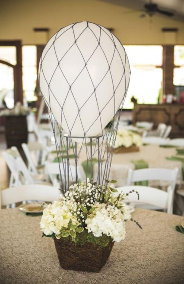 centros de mesa con bombas para matrimonios