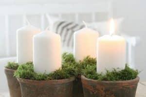 4 ideas para hacer centros de mesa con cazuelas de barro