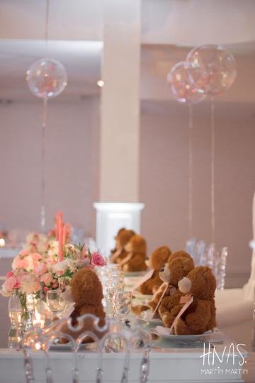 centros de mesa con osos ideas