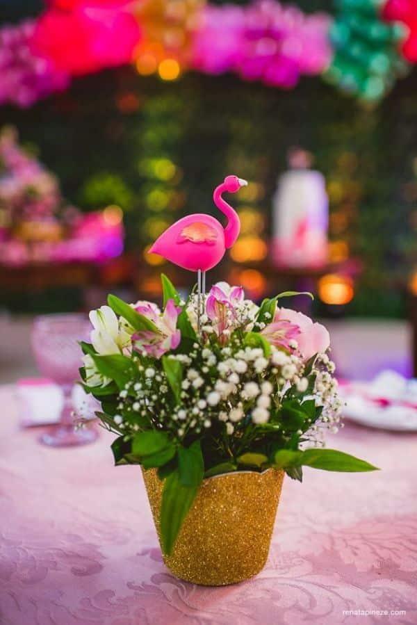 centro de mesa de flamenco ideas